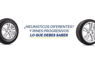 Que tan bueno es combinar neumáticos diferentes?