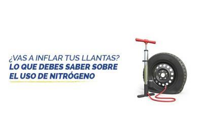Lo que debes saber sobre los neumáticos con nitrógeno
