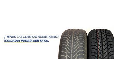 Tienes neumáticos agrietados? TEN CUIDADO podría ser fatal